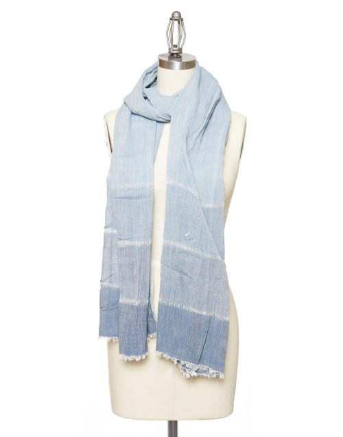 blue_darkblue-cotton-Scarf-The-Little-Market
